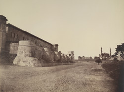 The Prison of the Palace, Delhi.